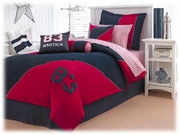 Nautica Peyton Twin Bed Skirt   By DomesticBin
