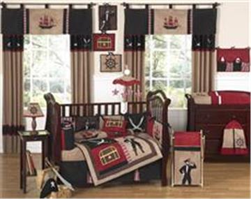 Pirate Treasure Cove Nursery Bedding Collection