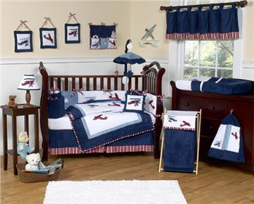 Vintage Aviator Toddler and Nursery Bedding Collection