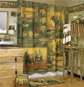 Wilderness Shower Curtain & Accessories