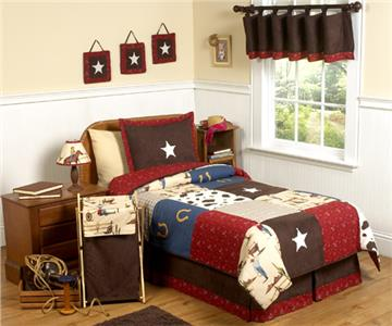 Wild West Toddler and Nursery Bedding Collection