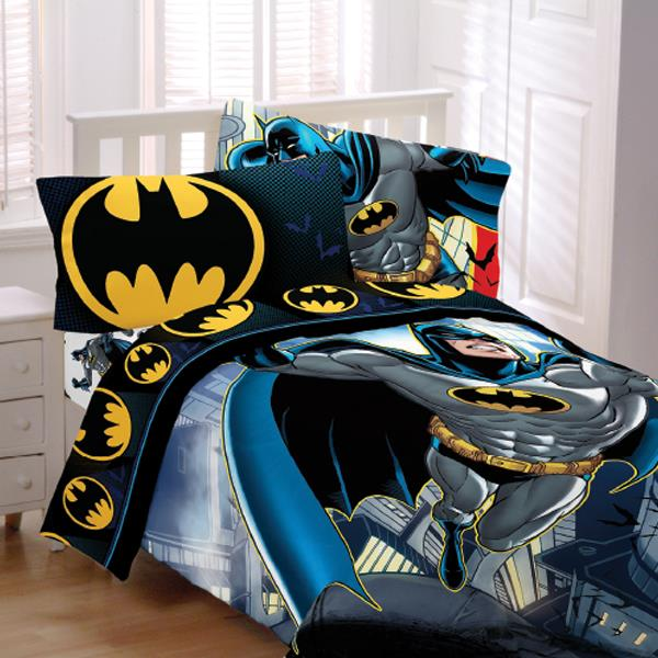 batman bedroom set batman from the rooftop bedding 10191