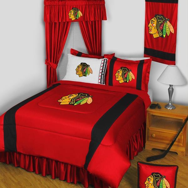 Chicago Blackhawks NHL Hockey Bedding