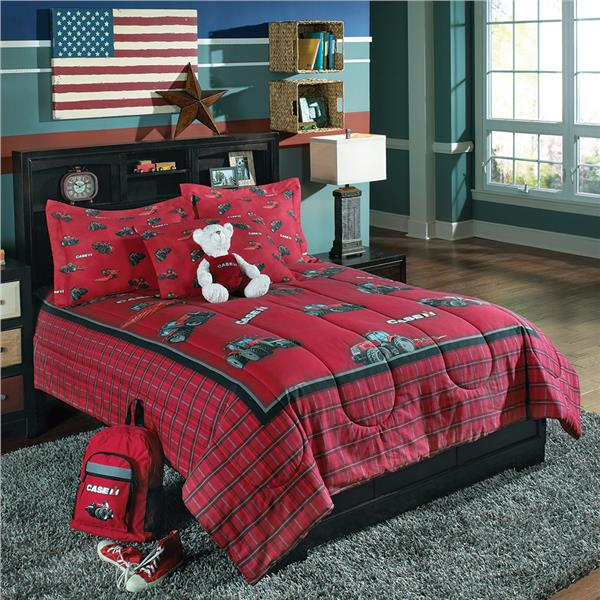 Tractor Mobile For Cribs : Case ih farmall tractor bedding ensemble