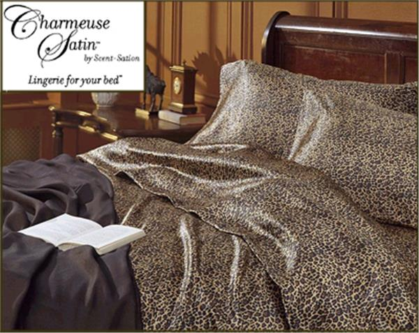 Leopard Satin Sheet Amp Comforter Sets