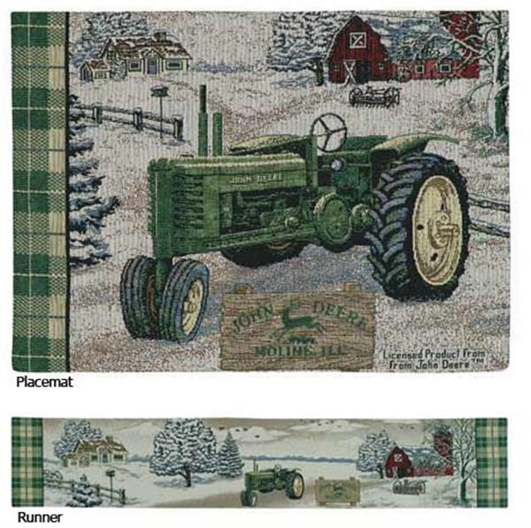 John Deere Kitchen Accessories-Placemats-Table Runners
