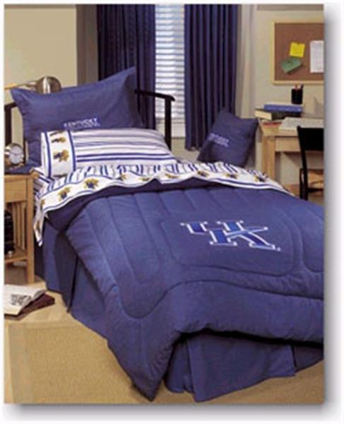 University Of Kentucky Denim Comforter Amp Sheet Set Combo