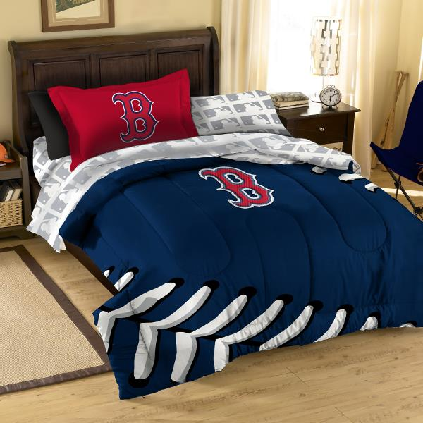 . Boston Red Sox Bed in a Bag   MLB Bedding at Domestic Bin