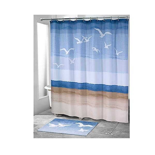 seagulls shower curtain u0026 bathroom linens