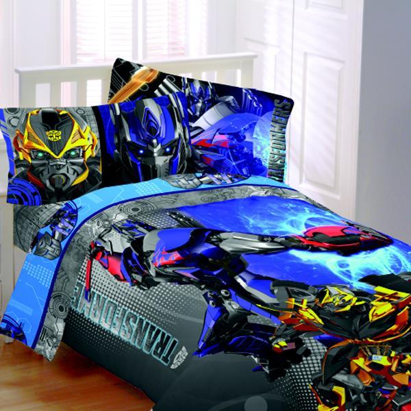 Transformers 4 Alien Machine Bedding