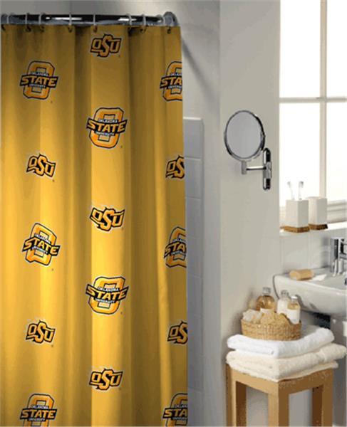 Oklahoma State University Collegiate Shower Curtain