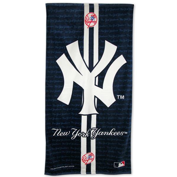 New York Yankees Fiber Reactive Beach Towel